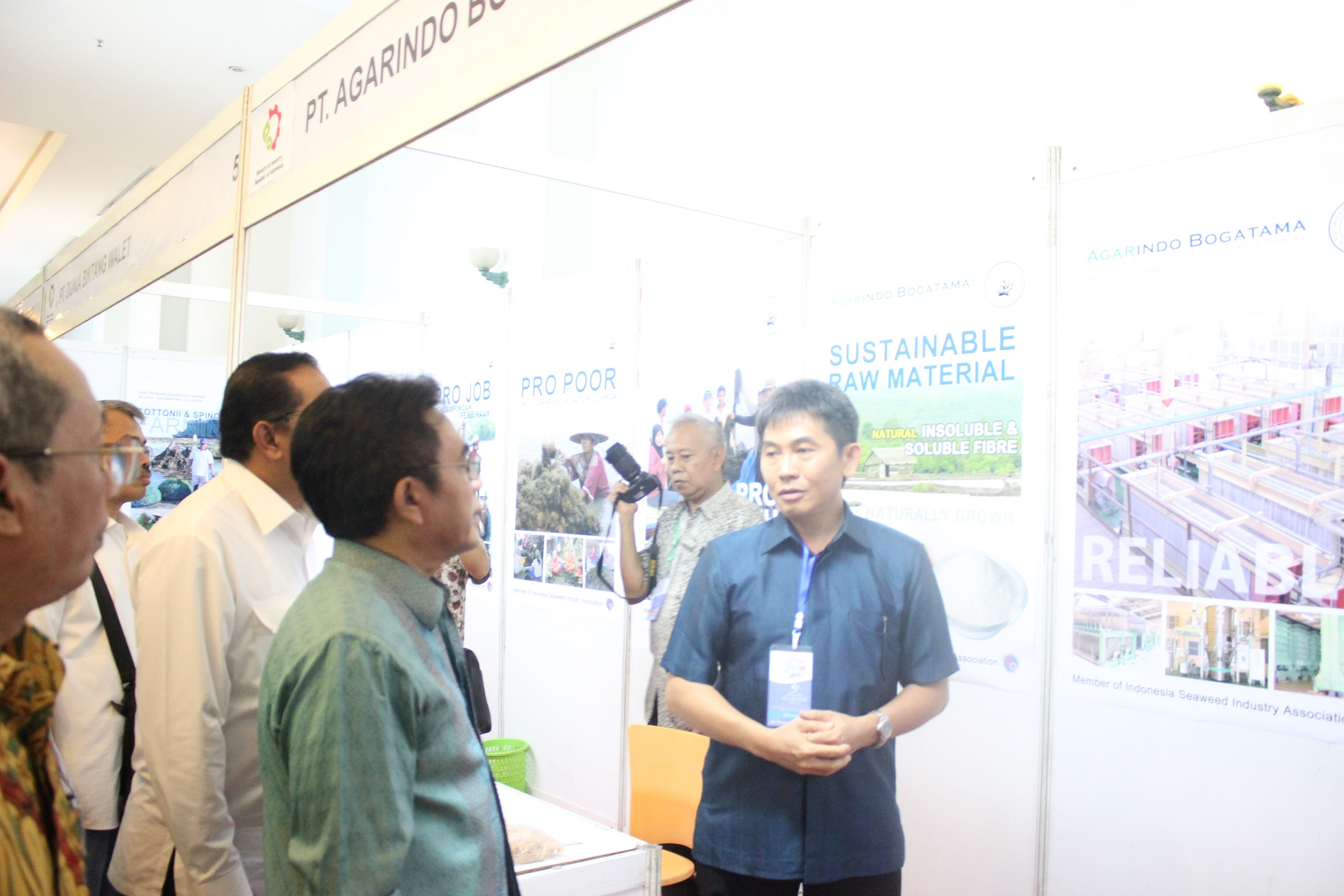 PT Agarindo Bogatama in The 3rd Indonesia Seaweed Forum (ISF 3)